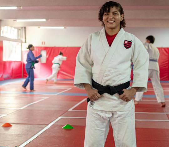 Sarah Menezes receberá o 6º Dan (Kodansha) da Confederação Brasileira de Judô