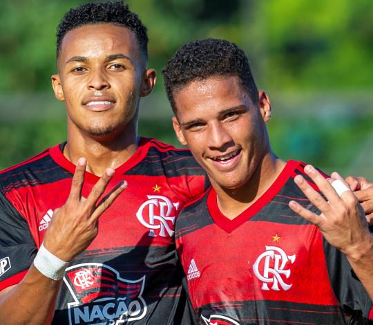 Sub-20 vence o Corinthians na Gávea e está nas quartas de final do Campeonato Brasileiro