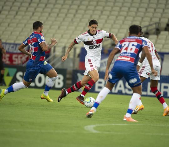 No Castelão, Flamengo empata com o Fortaleza em 0 a 0