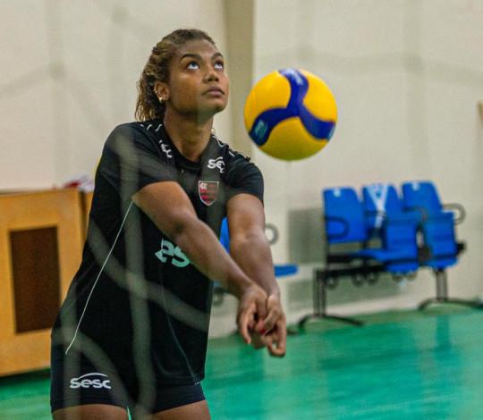 Sesc RJ Flamengo abre o ano em confronto direto com Sesi Bauru pela Superliga feminina de vôlei