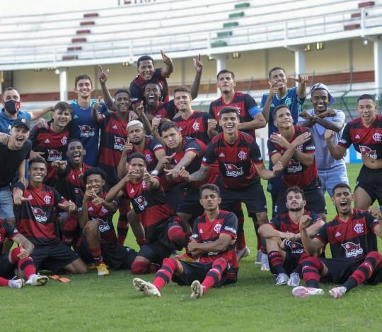 Sub-20 elimina o Fluminense dentro das Laranjeiras e está na semifinal do Campeonato Brasileiro