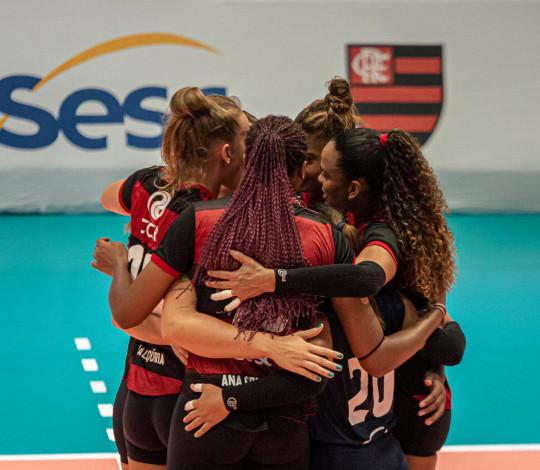 Sesc RJ Flamengo perde no tie break para o Sesi Bauru