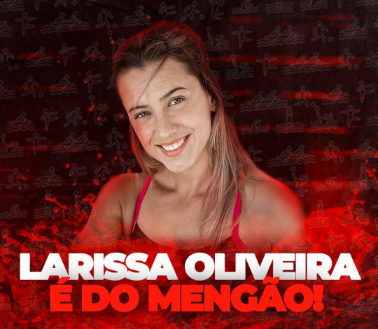 Maior medalhista do Brasil em Jogos Pan-Americanos, Larissa Oliveira acerta com o Mengão