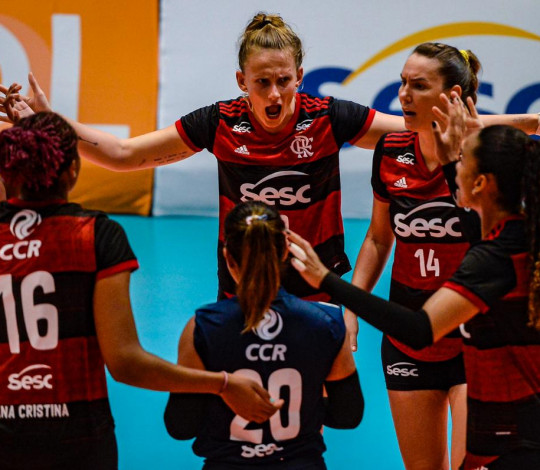 Sesc RJ Flamengo estreia no segundo turno da Superliga feminina de vôlei