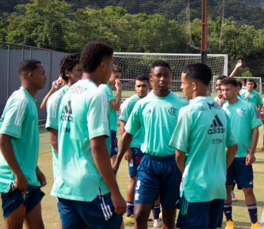 Sub-17 encerra preparação visando clássico diante do Fluminense pela semifinal da Copa do Brasil