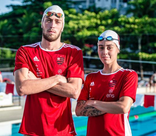 Carol Mazzo e Fernando Mariano reforçam o Flamengo ENS