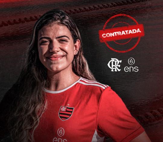 Hexacampeã brasileira, Pãmela Alencar assina com o Flamengo ENS