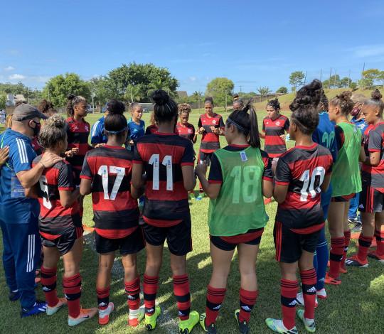 Flamengo é derrotado pelo Santos por 1 a 0 no Brasileirão Sub-18 Feminino