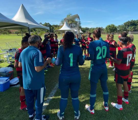 Flamengo fica no empate por 1 a 1 com o Palmeiras no Brasileirão Sub-18 Feminino