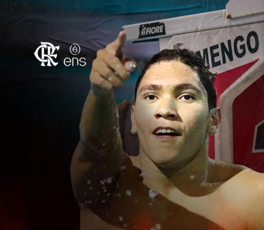 Stephan Steverink é do Mengão! Prodígio da natação assina com o Flamengo ENS