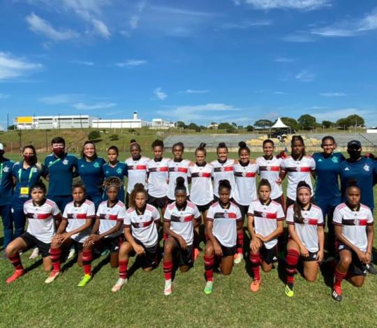 Flamengo e Internacional empatam por 0 a 0 no Brasileiro Sub-18 Feminino
