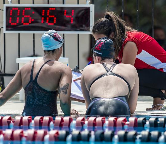 Nadadores rubro-negros disputam primeira tomada de tempo da temporada 2021