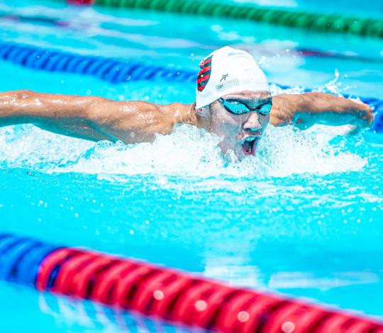 Primeira tomada de tempo oficial marca o início do calendário da natação rubro-negra