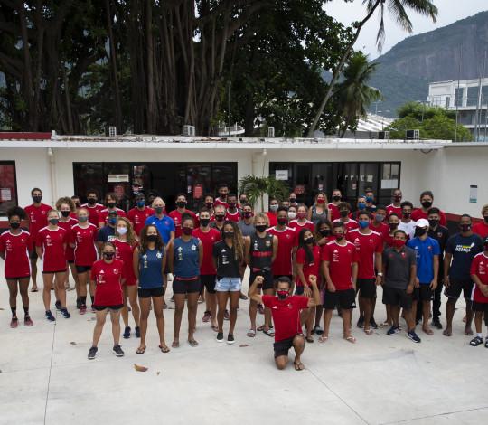 Rubro-negros encaram o Pré-Olímpico e o Sul-Americano de Remo