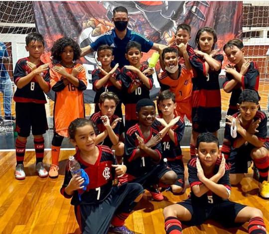 Futsal do Flamengo é sucesso nas categorias de base