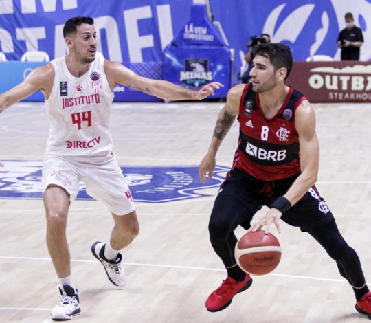 Flamengo consegue virada no fim e vence o Instituto-ARG por 78 a 77 na Champions League Americas