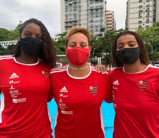 Quatro atletas rubro-negras são convocadas para a Seleção Brasileira feminina de polo aquático