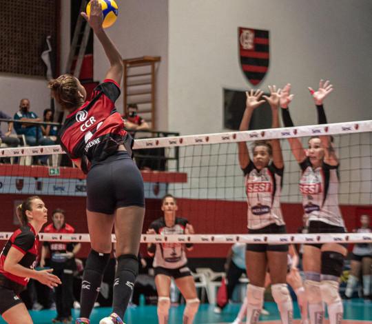 Sesc RJ Flamengo tem confronto decisivo pelas quartas de final da Superliga feminina