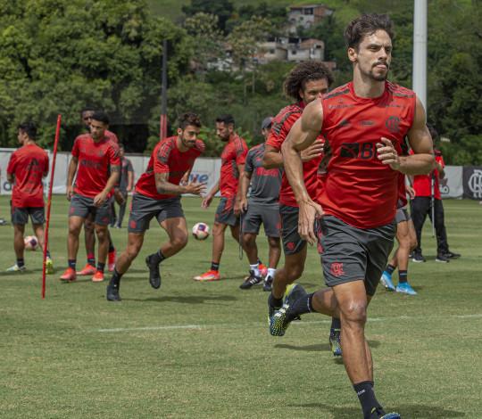 Flamengo encerra preparação para o jogo contra o Madureira, pelo Cariocão