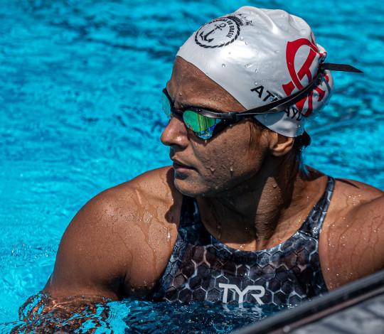 Atletas rubro-negros estão na reta final de preparação para a Seletiva Olímpica de Natação