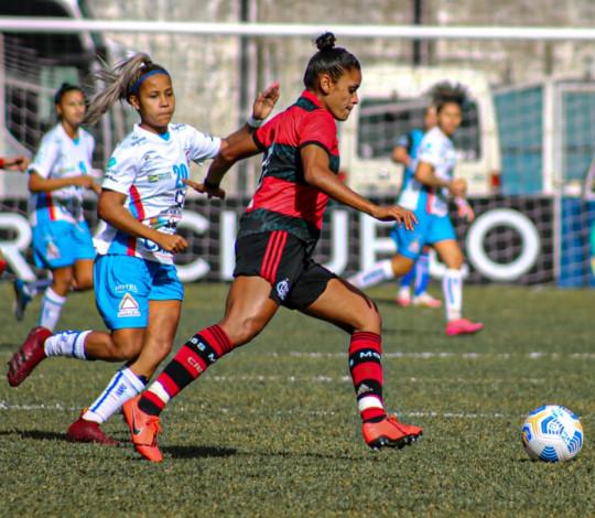 Flamengo e Napoli-SC empatam por 0 a 0 pelo Brasileirão Feminino