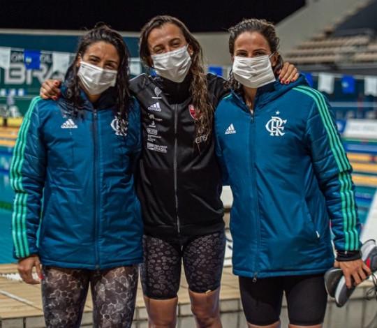 Naná Almeida, Larissa Oliveira e Gabi Roncatto chegam mais perto de Tóquio