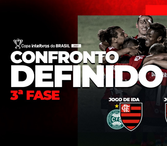 Flamengo enfrenta o Coritiba pela terceira fase da Copa do Brasil