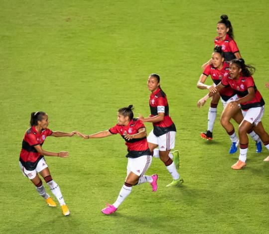 Em Pituaçu, Flamengo bate o Bahia por 1 a 0 e conquista a primeira vitória no Brasileiro Feminino