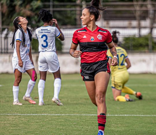 Na Gávea, Flamengo e São José empatam por 2 a 2 pelo Brasileiro Feminino