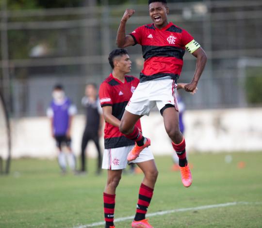 De virada, Mengão vence o Ceará por 2 a 1 pelo Brasileirão Sub-17