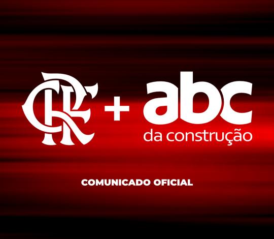 ABC da Construção acerta patrocínio com Flamengo para o calção do futebol profissional