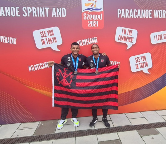 Bronze para Isaquias Queiroz e Jacky Godmann na Copa do Mundo