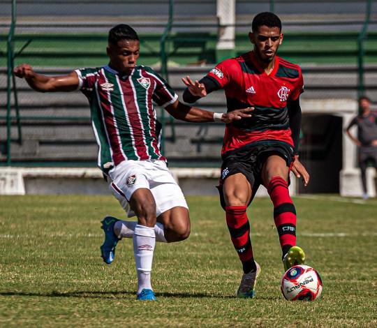 Flamengo Sub-20 é derrotado pelo Fluminense por 2 a 1, nas Laranjeiras