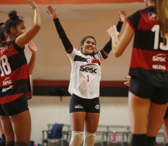 Flamengo vence Seleção da NCAA em amistoso na Gávea