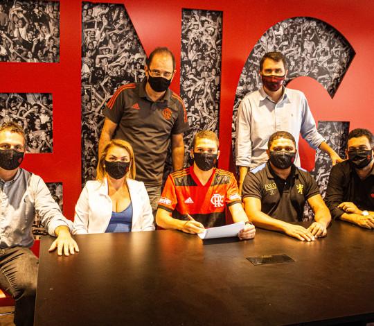 Flamengo acerta retorno do atacante David Viana