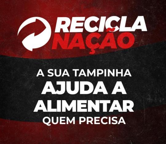 Recicla Nação: Flamengo, Soul Ambiental e Gastromotiva usam a sustentabilidade no combate à fome