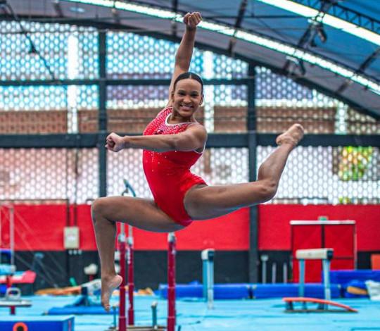 Rebeca Andrade dá show e se classifica para as Olimpíadas