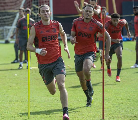 Flamengo encerra preparação para a estreia na Copa do Brasil