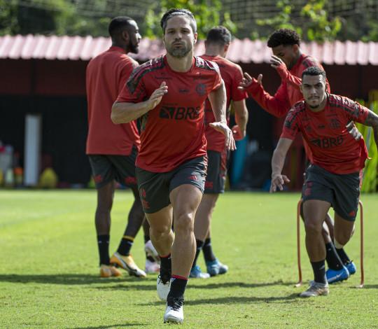 Flamengo realiza último treino antes de encarar o América-MG