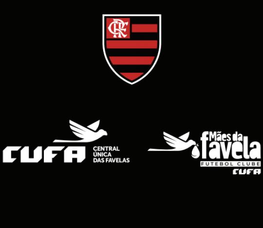 Flamengo participa de campanha nacional da CUFA para arrecadar alimentos para as Mães da Favela