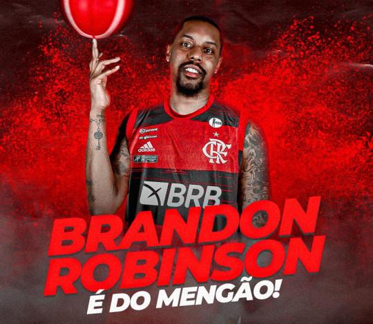 Brandon Robinson é do Mengão!