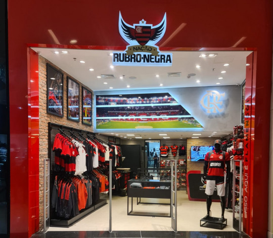 Lojas Oficiais do Flamengo chegam à 130ª unidade