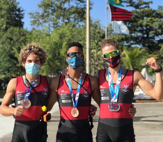 É campeão! Remo rubro-negro conquista 2ª Regata Estadual na Lagoa