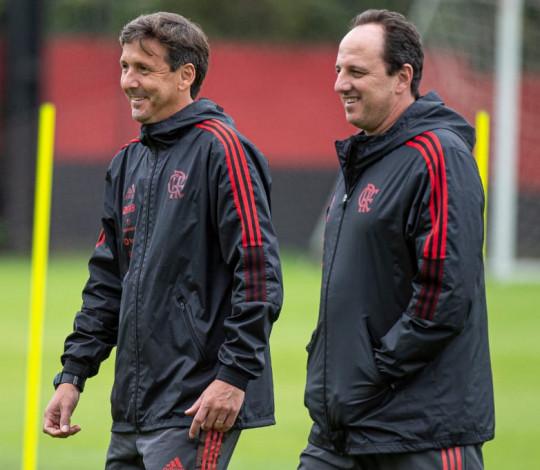 A pedido de Rogério Ceni, Márcio Torres é o novo auxiliar técnico da equipe profissional