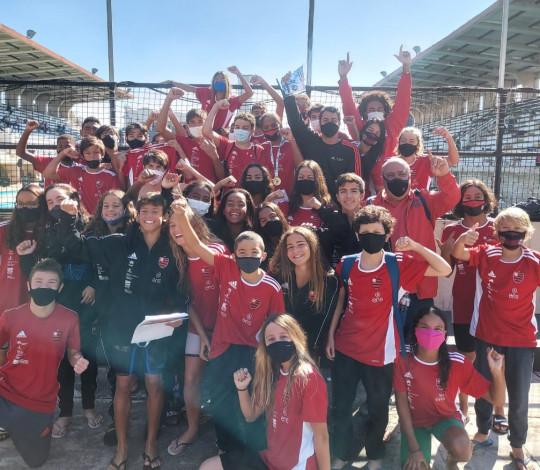 Flamengo é campeão do Estadual de Natação de Inverno em duas categorias