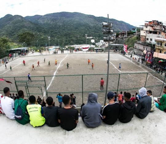 """Campos dos Sonhos"" realiza nova seletiva na comunidade do Borel, na Grande Tijuca"