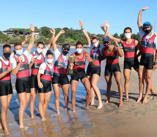 Flamengo conquista o penta da Volta à Ilha de Vitória e 1ª Copa ES de Remo de Praia