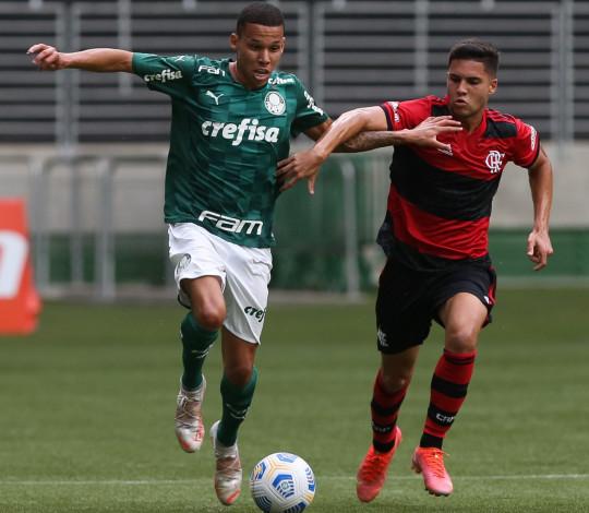 Sub-20 perde para o Palmeiras pelo Campeonato Brasileiro