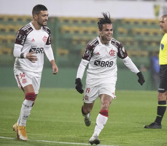 Na Argentina, Mengão bate o Defensa por 1 a 0 e larga na frente nas oitavas da Libertadores