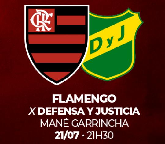 Informações sobre retirada de ingressos para Flamengo x Defensa y Justicia